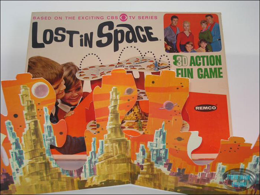 lost in space is a 3d game
