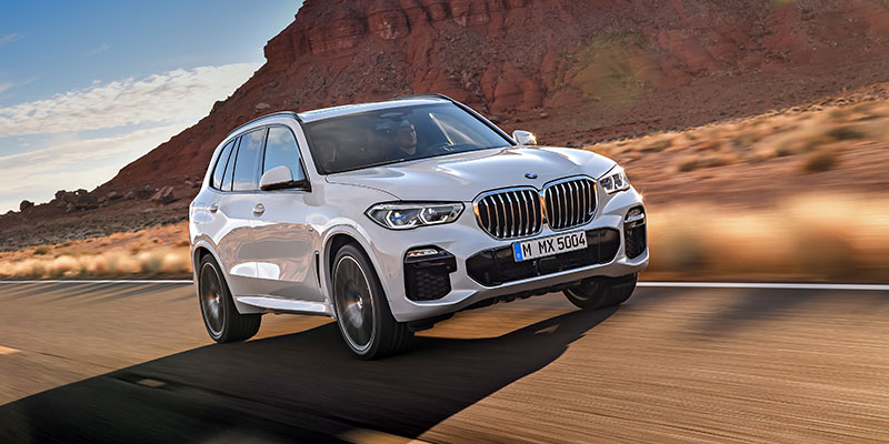 bmw x5 can call for help in an emergency situation
