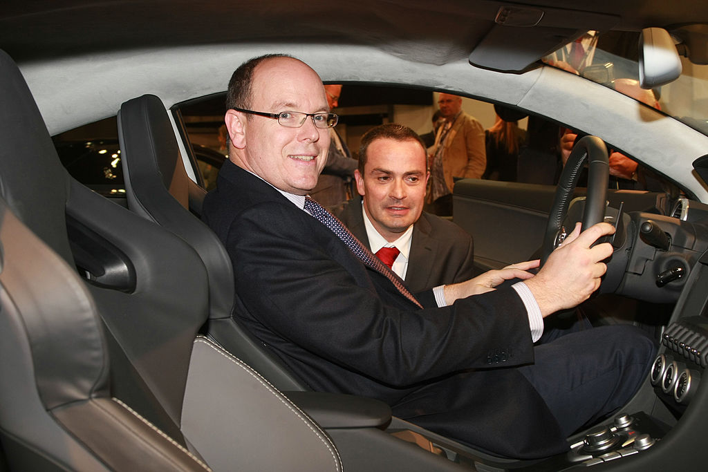 prince albert owns an incredibly valuable car key