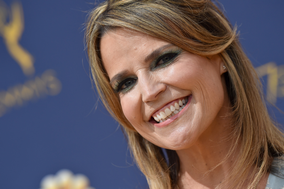 Savannah Guthrie attends the 70th Emmy Awards at Microsoft Theater