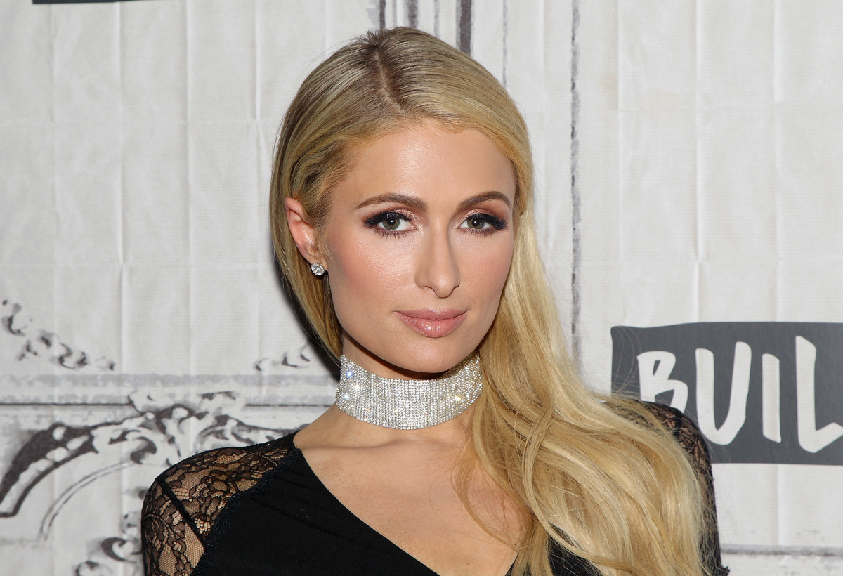 "TV personality Paris Hilton attends the Build Series to discuss ""The American Meme"" at Build Studio on December 19, 2018 in New York City."
