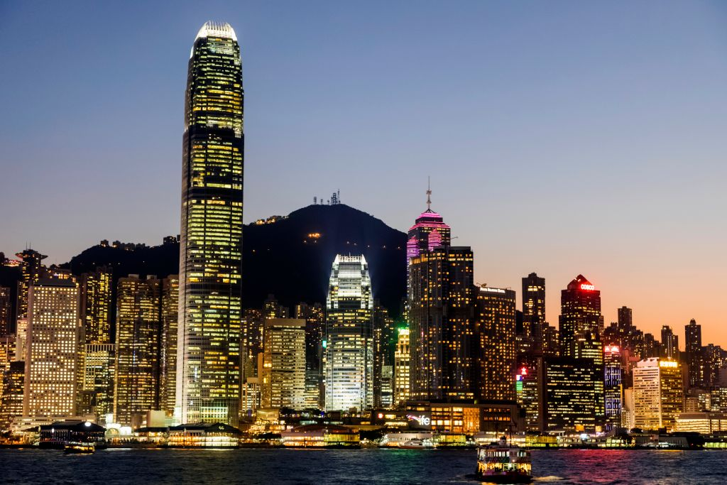 GettyImages-1081354058 China, Hong Kong, City Skyline and Star Ferry