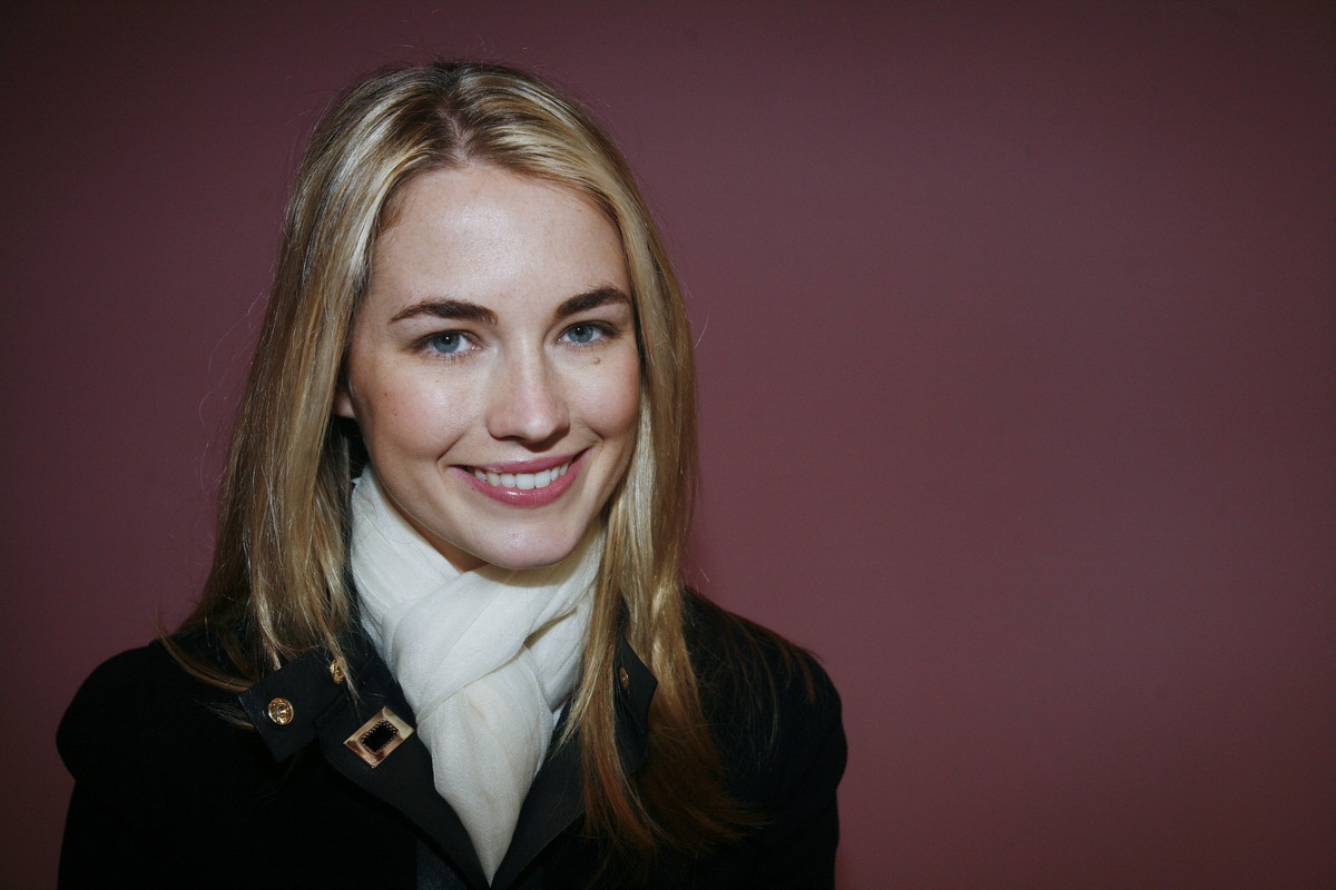 Amanda Hearst attends the Philosophy di Alberta Ferretti Fall 2011 fashion show during Mercedes-Benz Fashion Week at Aeffe USA on February 12, 2011 in New York City.
