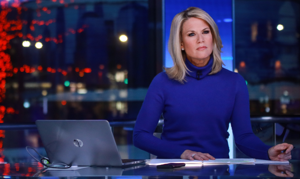 : Martha MacCallum seen during a taping of