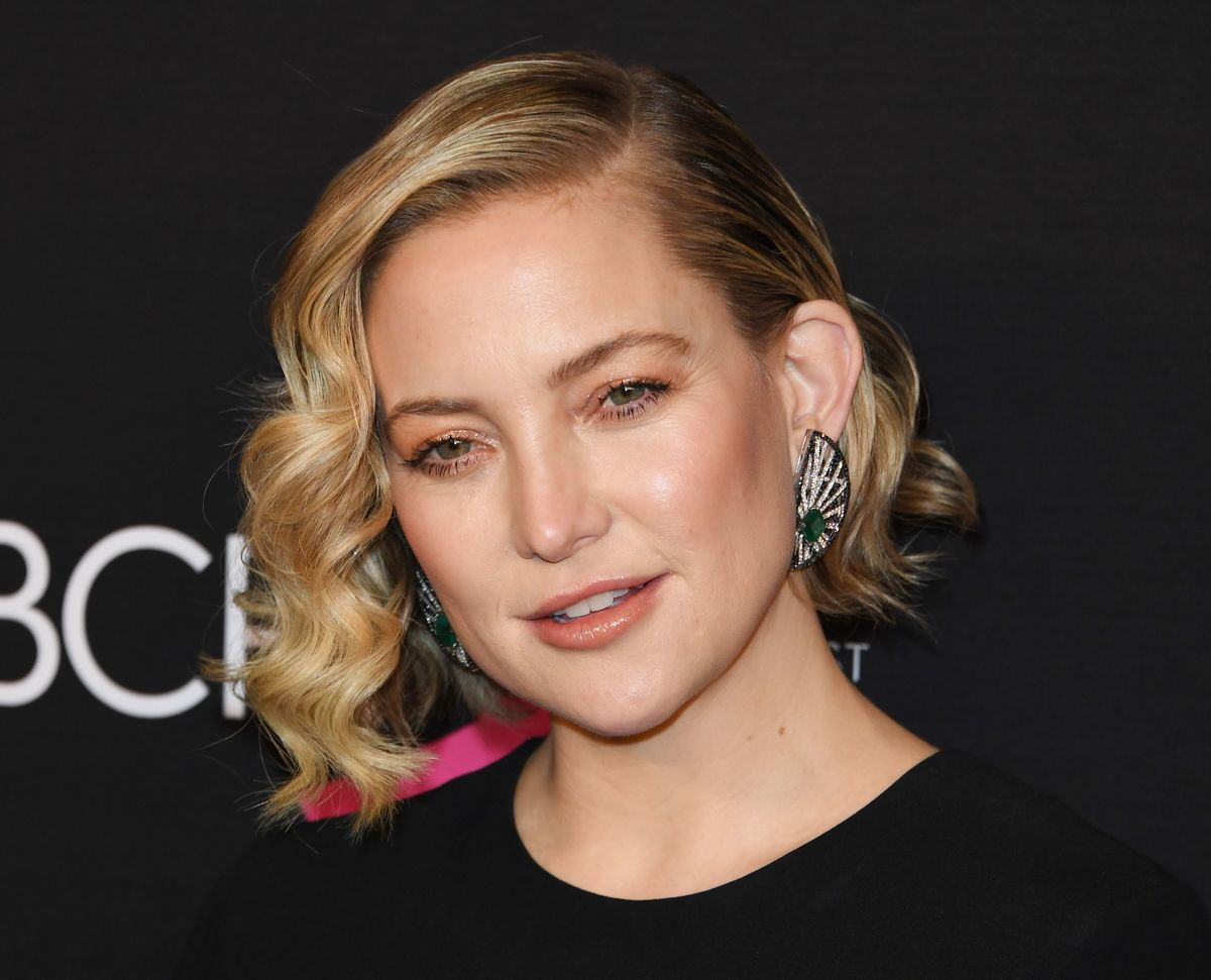 "2019 Courage Award Recipient actress Kate Hudson arrives for ""An Unforgettable Evening"" benefiting The Womens Cancer Research Foundation at the Beverly Wilshire hotel on February 28, 2019 in Beverly Hills."
