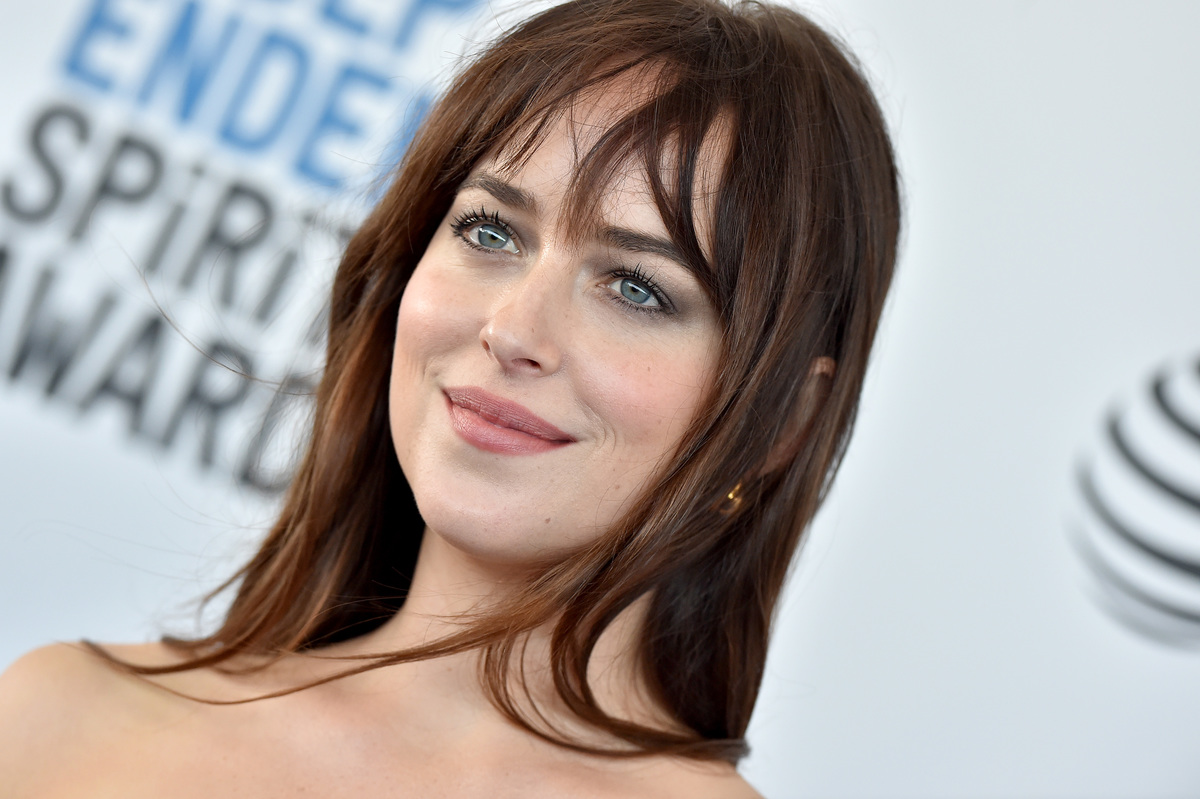 Dakota Johnson attends the 2019 Film Independent Spirit Awards on February 23, 2019 in Santa Monica, California.