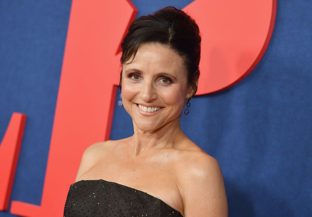 "US actor Julia Louis-Dreyfus attends the premiere of the seventh and final season of HBO's ""Veep"" at Alice Tully Hall at the Lincoln Center in New York City on March 26, 2019."