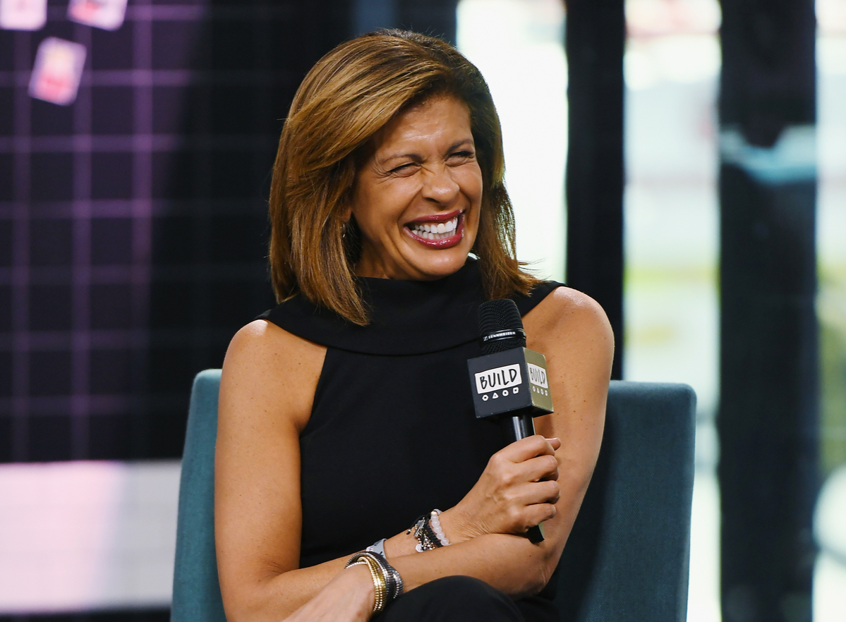Hoda Kotb visits Build to discuss her new book
