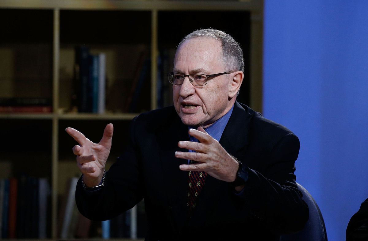Alan Dershowitz attends Hulu Presents