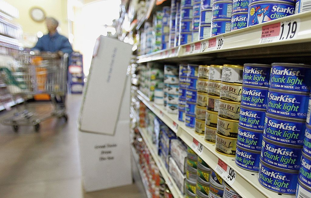 Canned Tuna -56688811