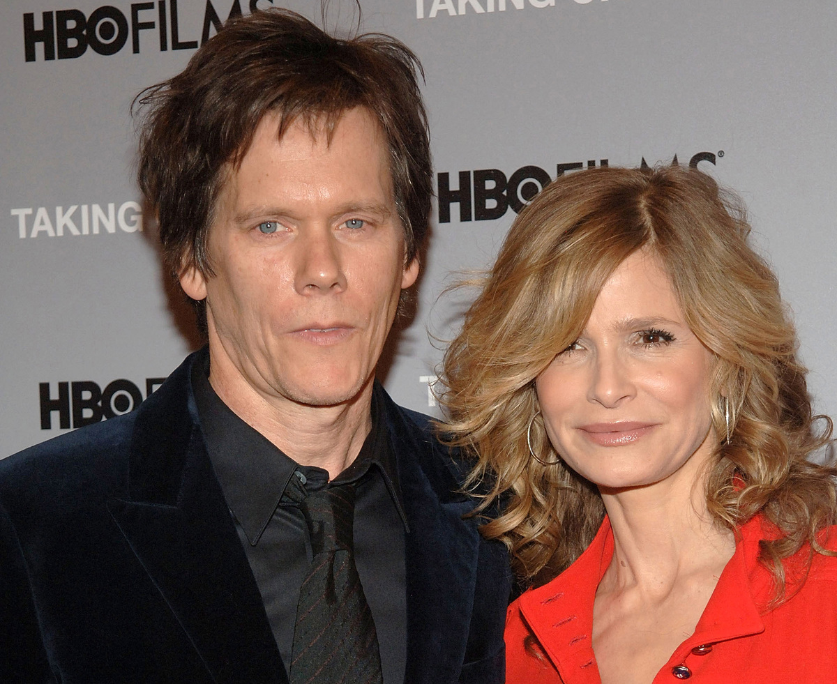"Actors Kevin Bacon and Kyra Sedgwick attend the premiere of ""Taking Chance"" at the Time Warner Screening Room on February 11, 2009 in New York City."