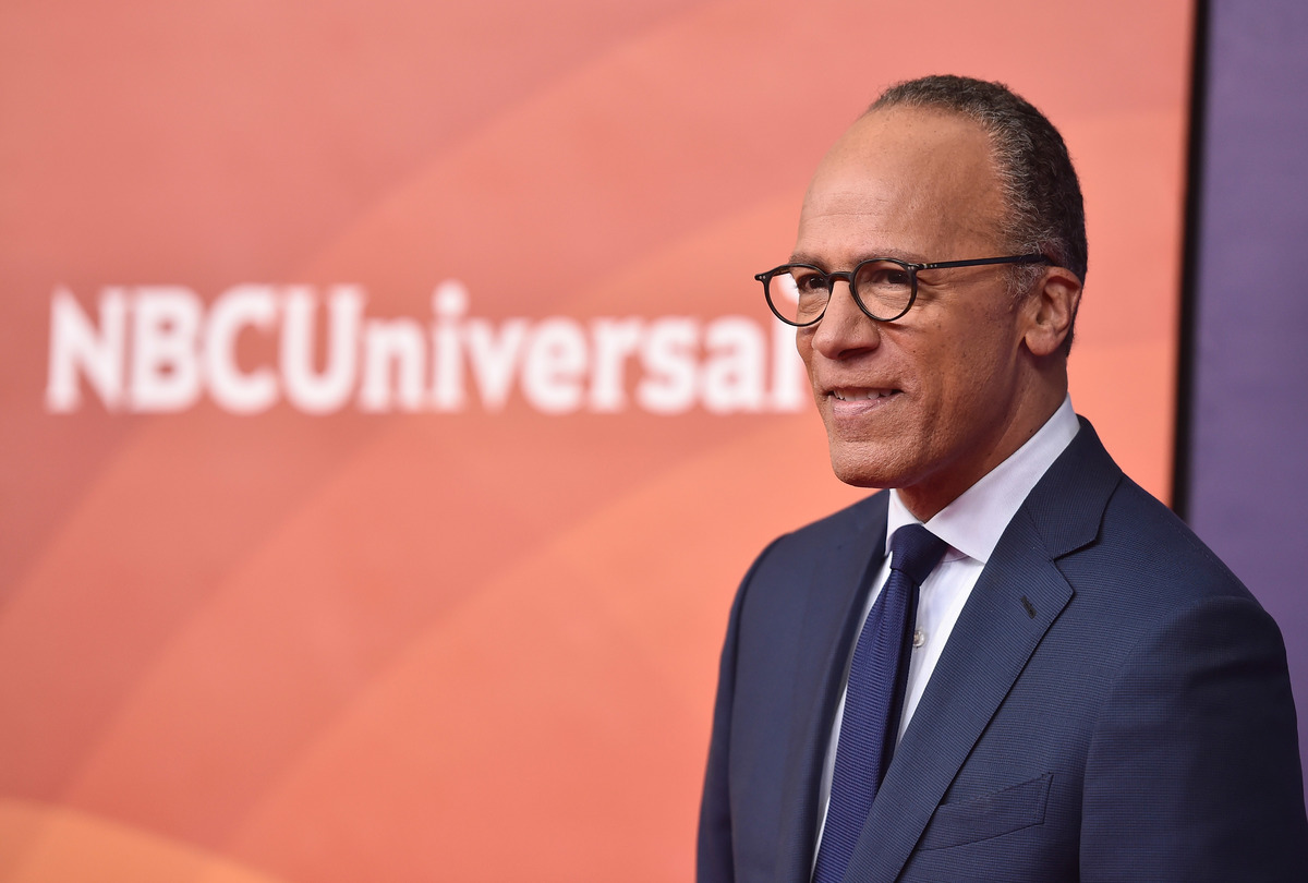 Newscaster Lester Holt attends NBCUniversal's Summer Press Day