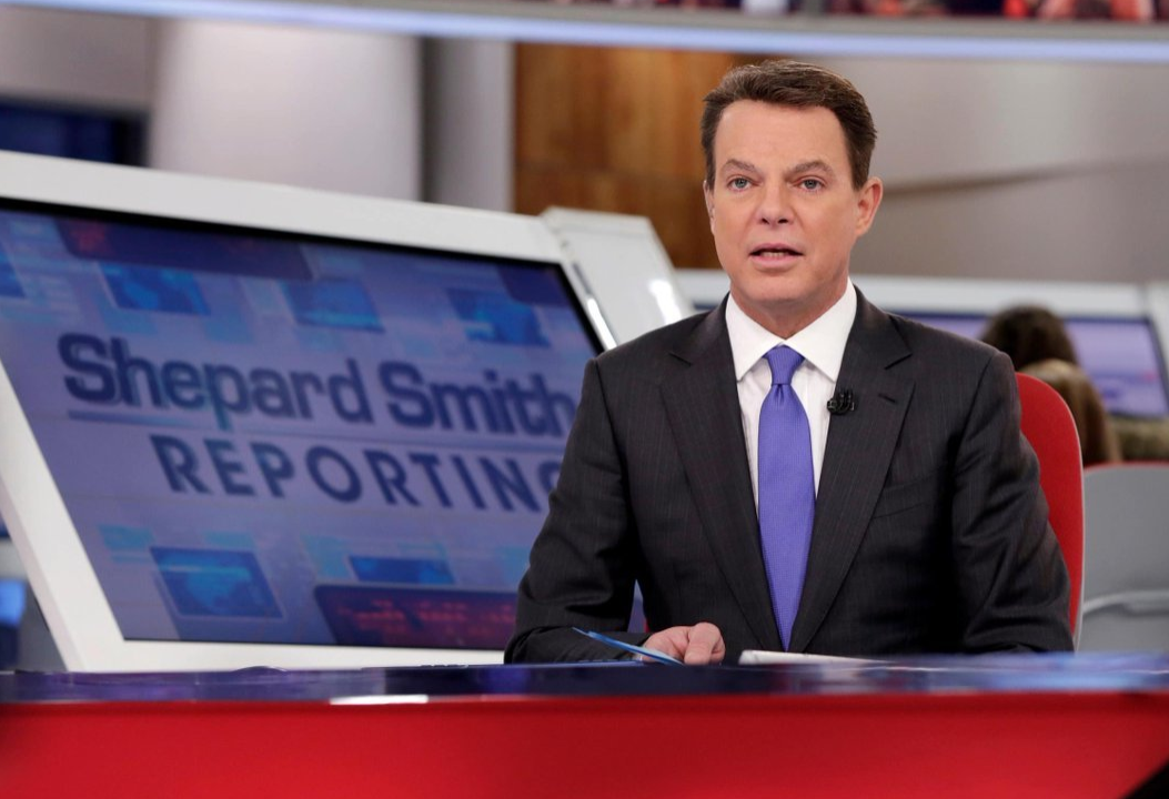 Shepard Smith reporting on Fox News
