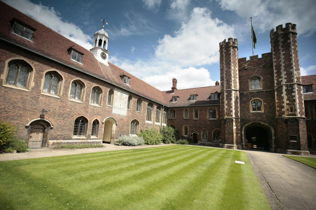 General view of the Cambridge University campus