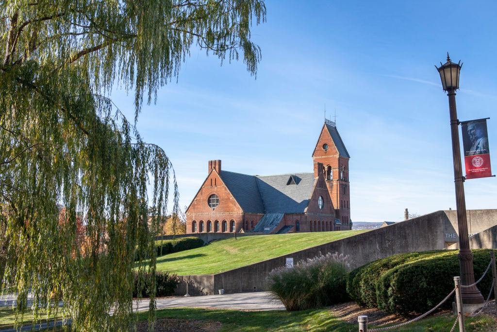Barnes Hall, Cornell University, Ithaca, New York, USA