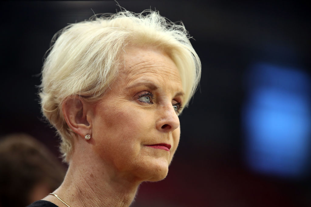 Cindy McCain, wife of the late U.S. Senator John McCain