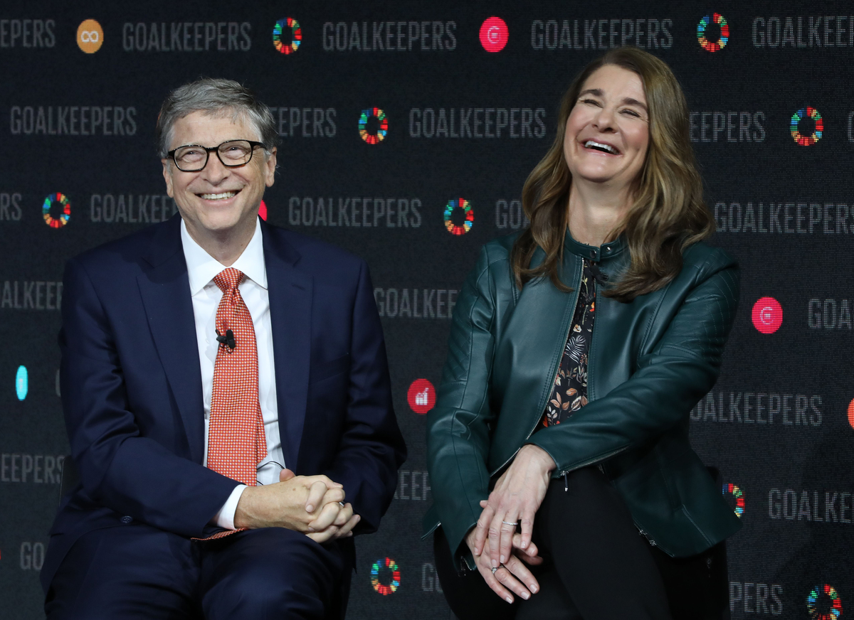 Bill Gates and Melinda Gates attend Global Champions Tour, 2017