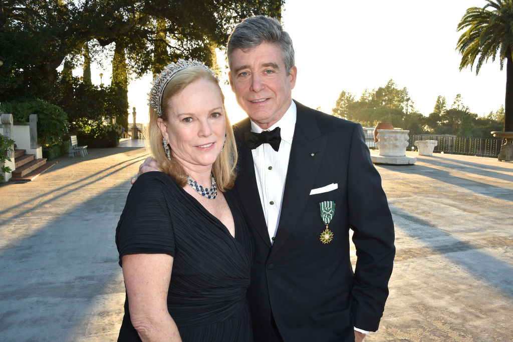 Anne Hearst McInerney and Jay McInerney