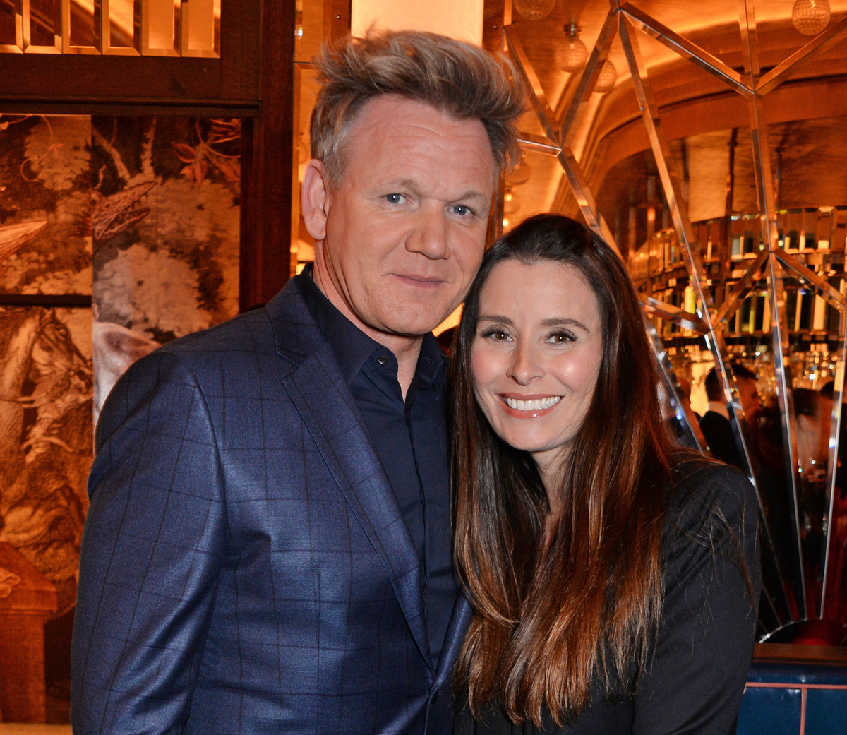 Gordon Ramsay and Tana Ramsay attend the GQ dinner