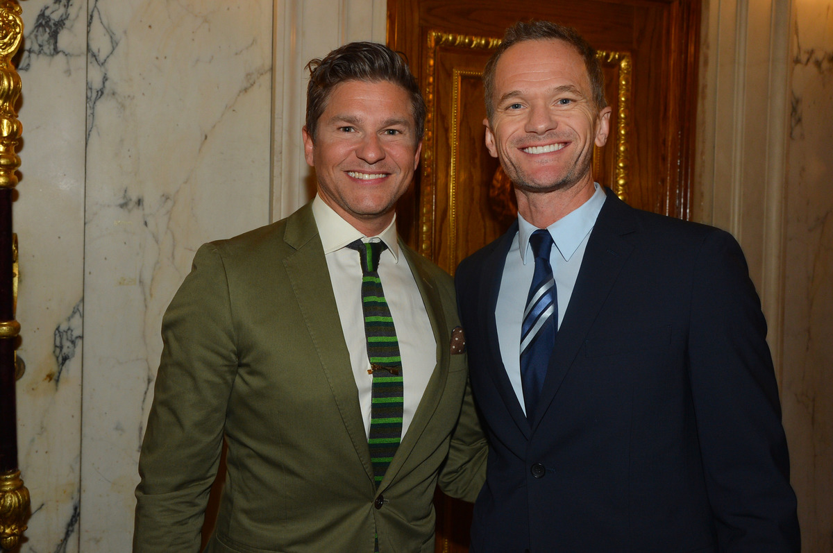 David Burtka and Neil Patrick Harris attend The 16th Annual Authors In Kind, 2019