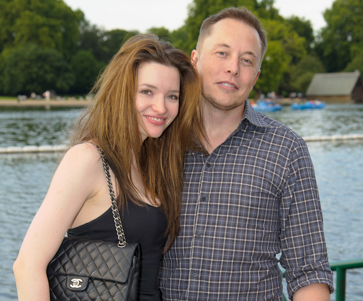 Talulah Riley and Elon Musk attend Chucs Dive & Mountain Shop's swim party