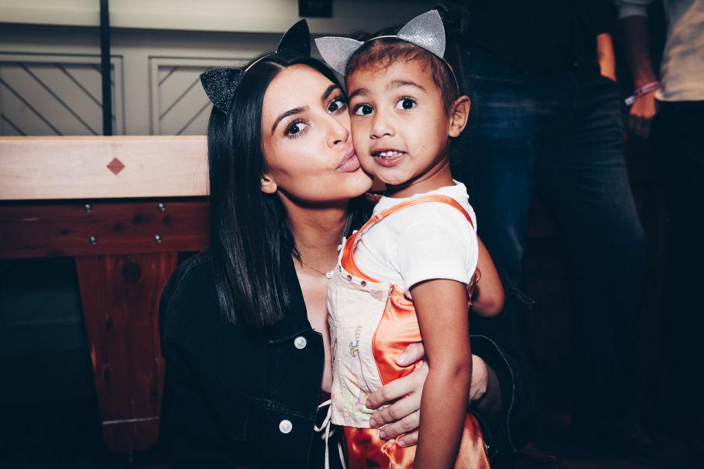 Kim Kardashian and daughter, North West