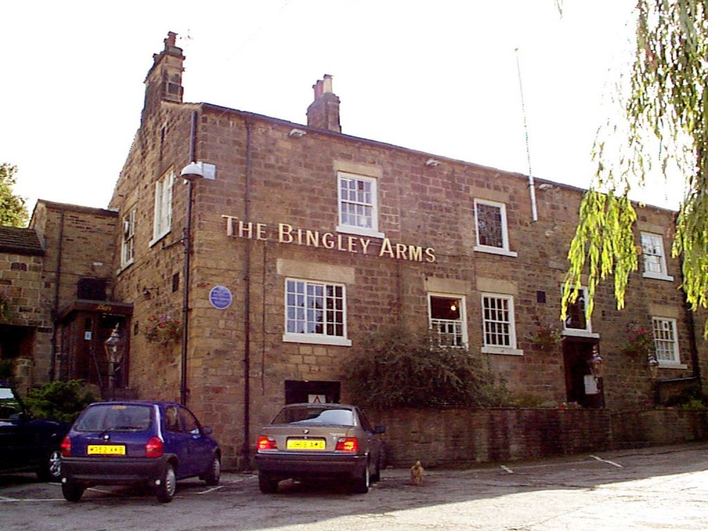 the Bingley Arms pub