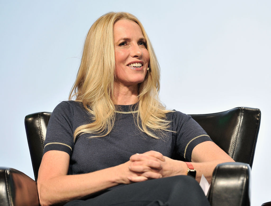 Emerson Collective Founder and President Laurene Powell Jobs speaks onstage