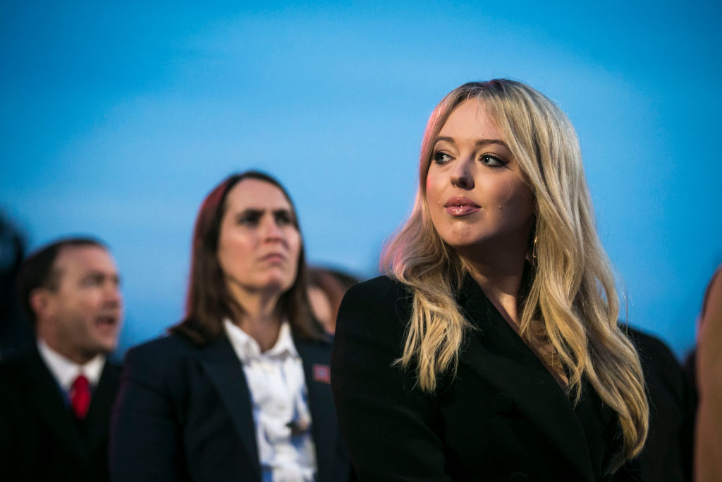 Tiffany Trump, daughter of U.S. President Donald Trump