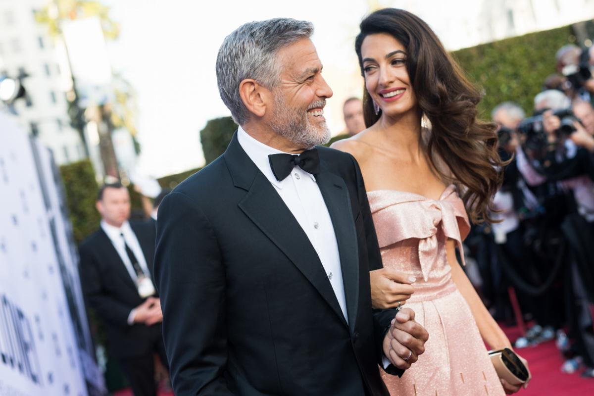 Amal Clooney and George Clooney attend the American Film Institute's 46th Life Achievement Award Gala Tribute to George Clooney