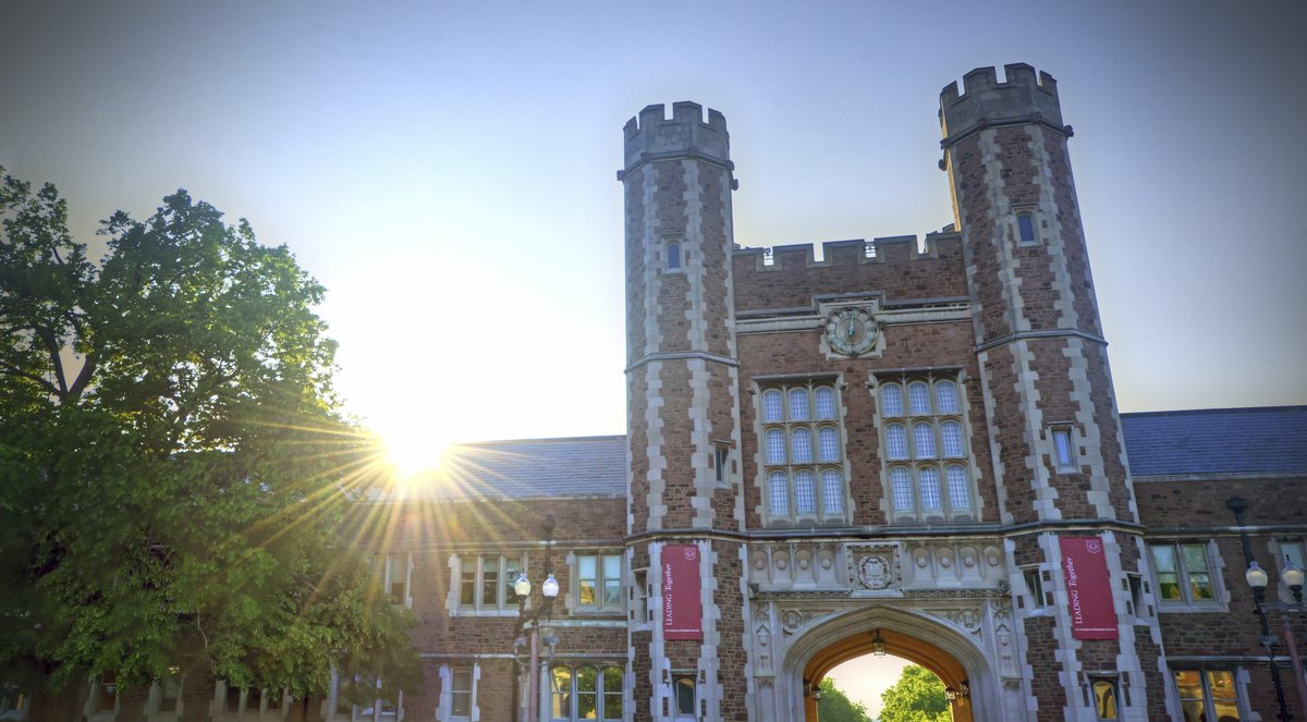 Sunrise over Washington University