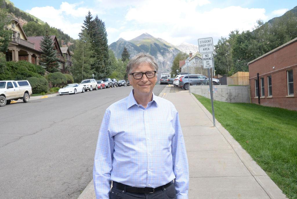 Bill Gates attends the Telluride Film Festival 2019