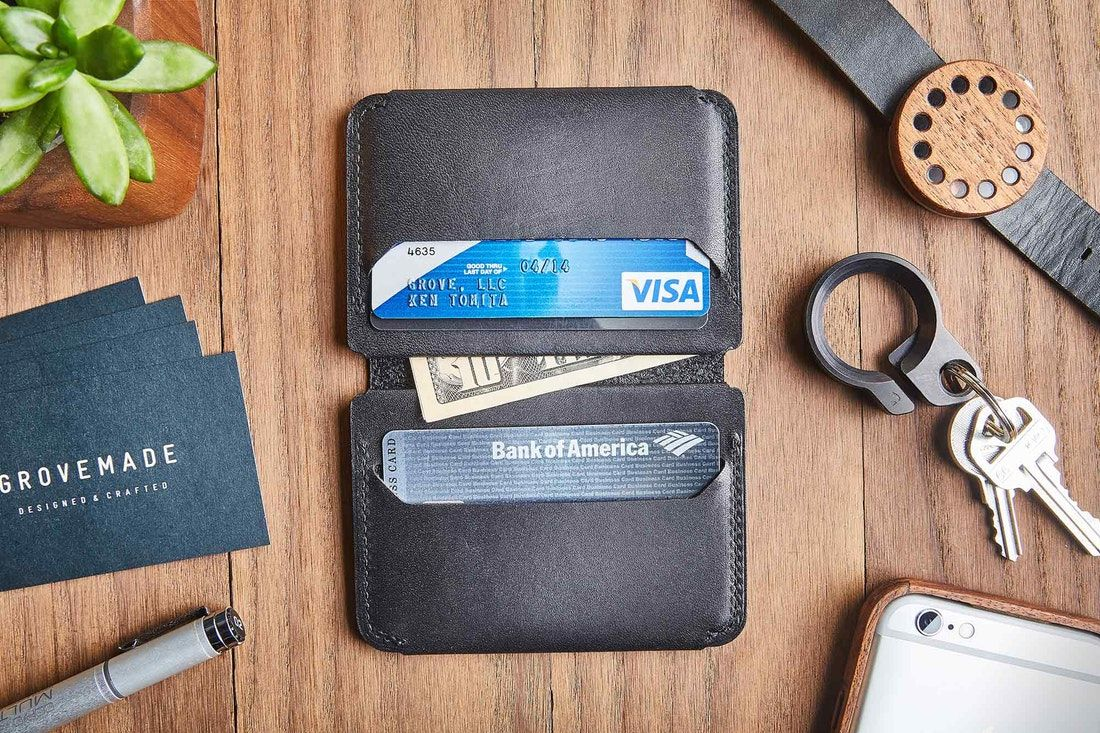 an organized Wallet