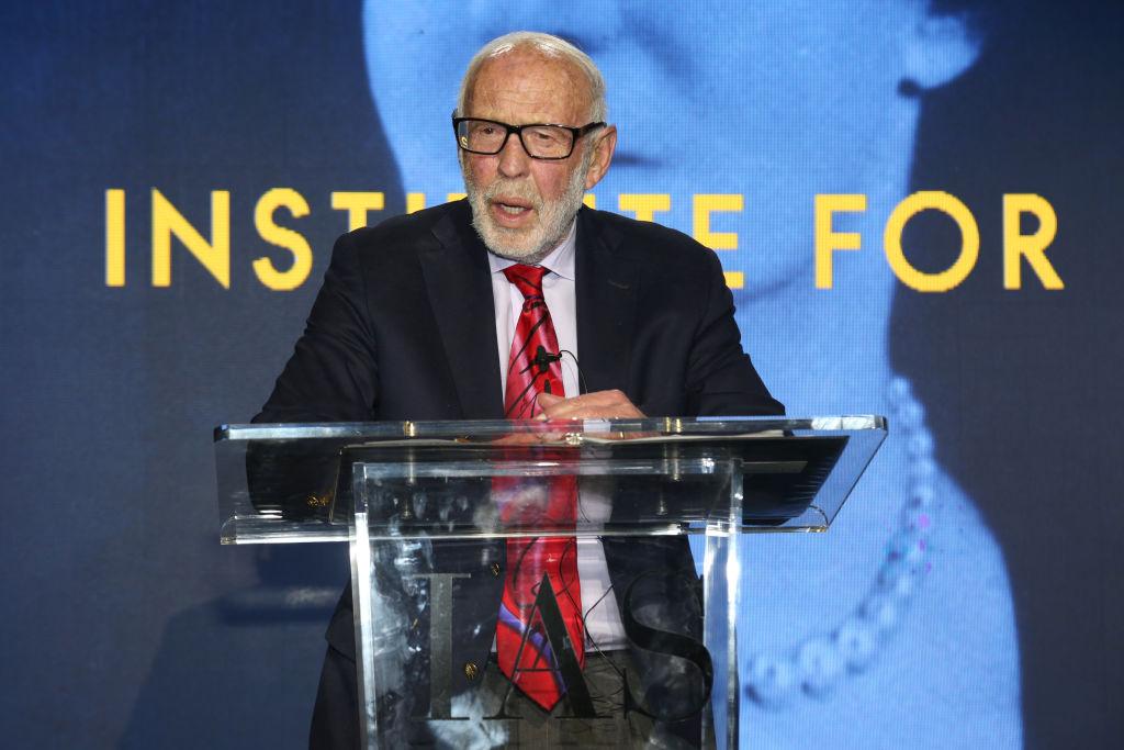 Jim Simons attends IAS Einstein Gala