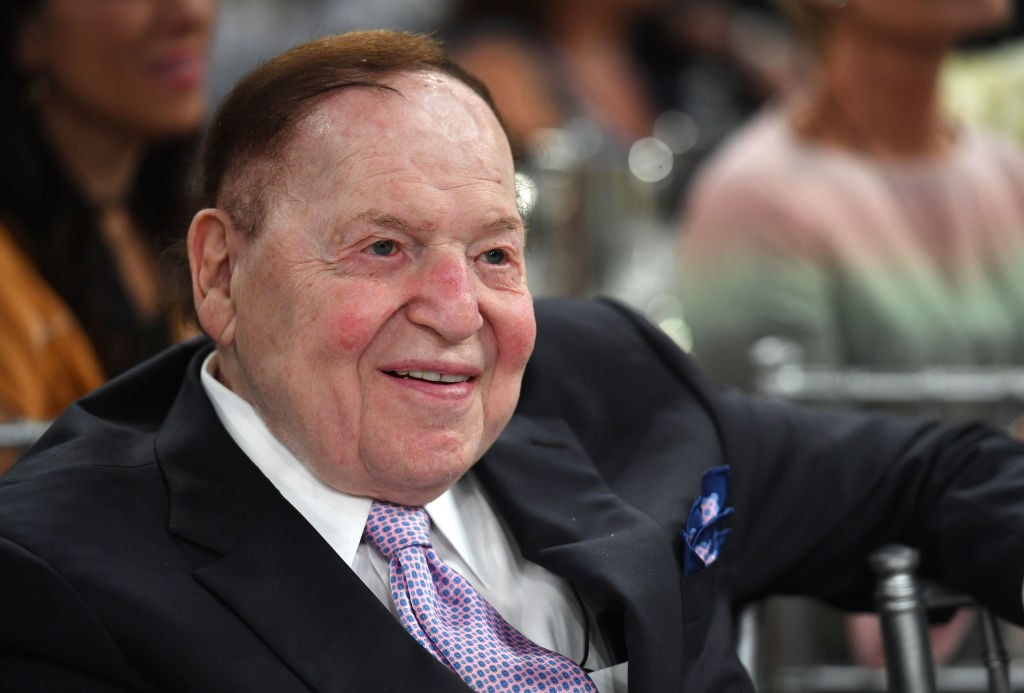 Sheldon Adelson attends Friends of The Israel Defense Forces (FIDF) Western Region Gala