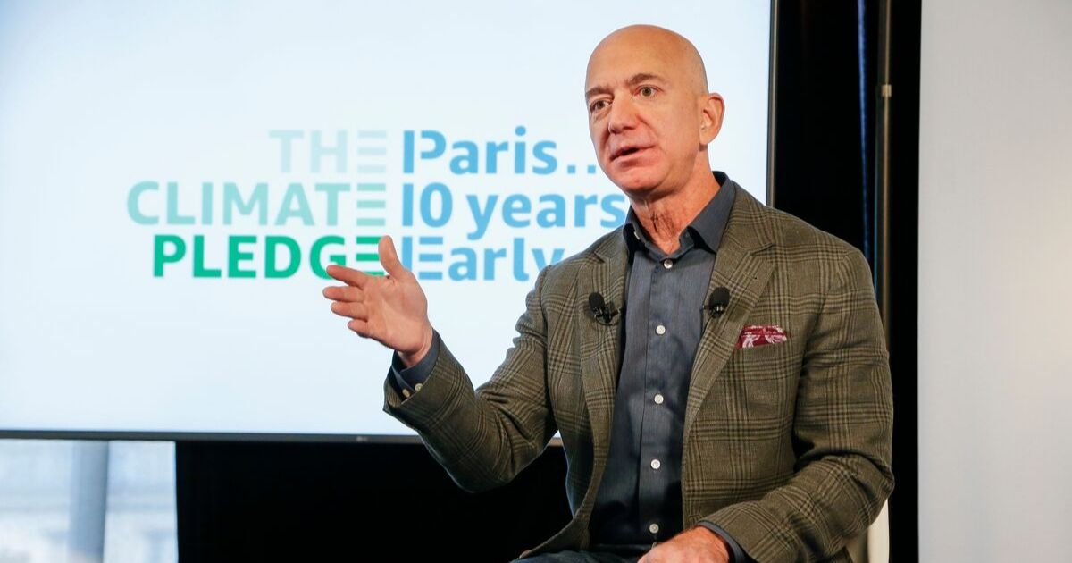 Jeff Bezos announces the co-founding of The Climate Pledge