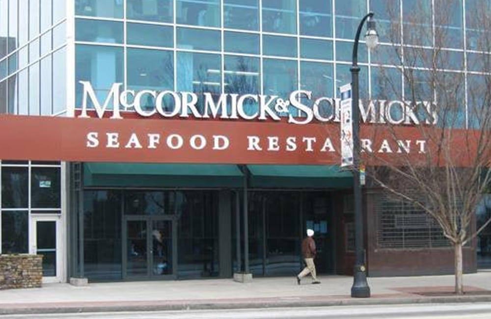 McCormick & Schmick's Is Swimming Away
