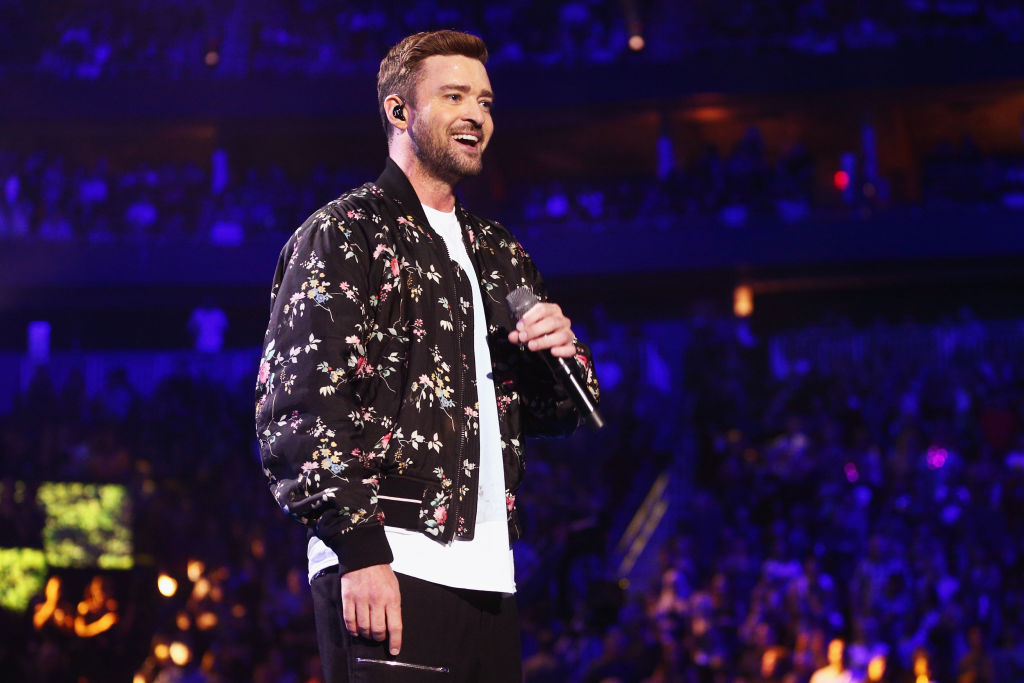 timberlake on stage