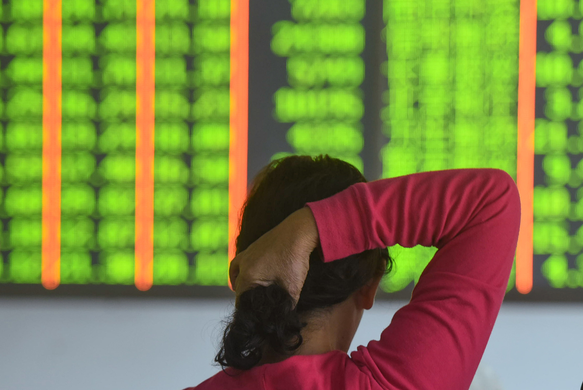 checking on stocks