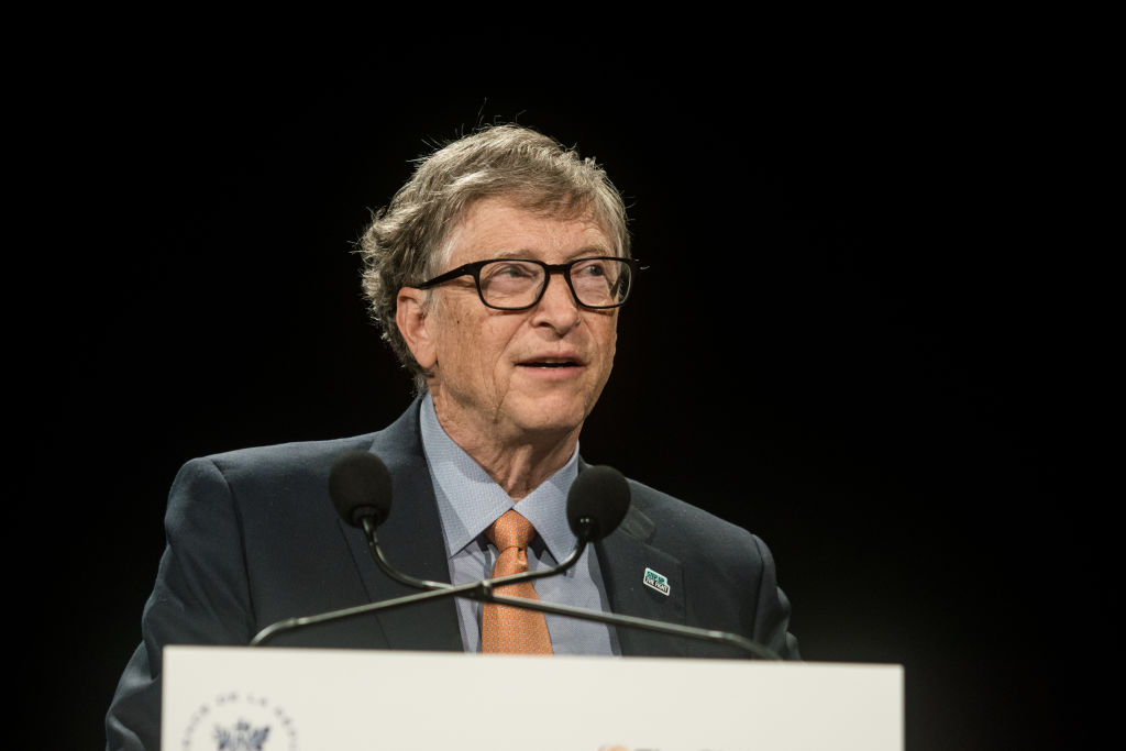 Gates at World Fund Conference