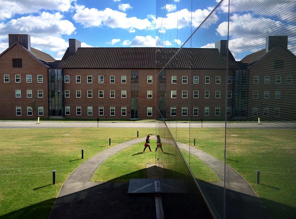 reflected scene