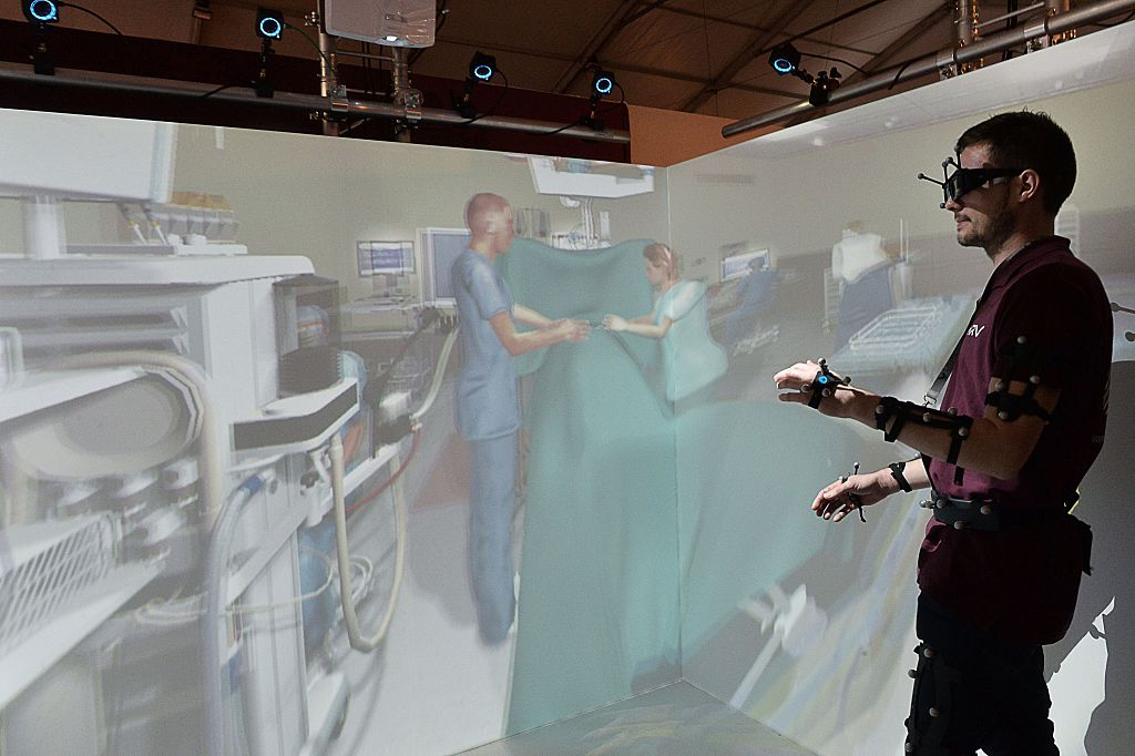 medicine virtual reality
