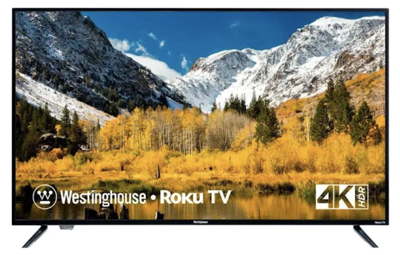 50-Inch Westinghouse 4K Roku Smart TV