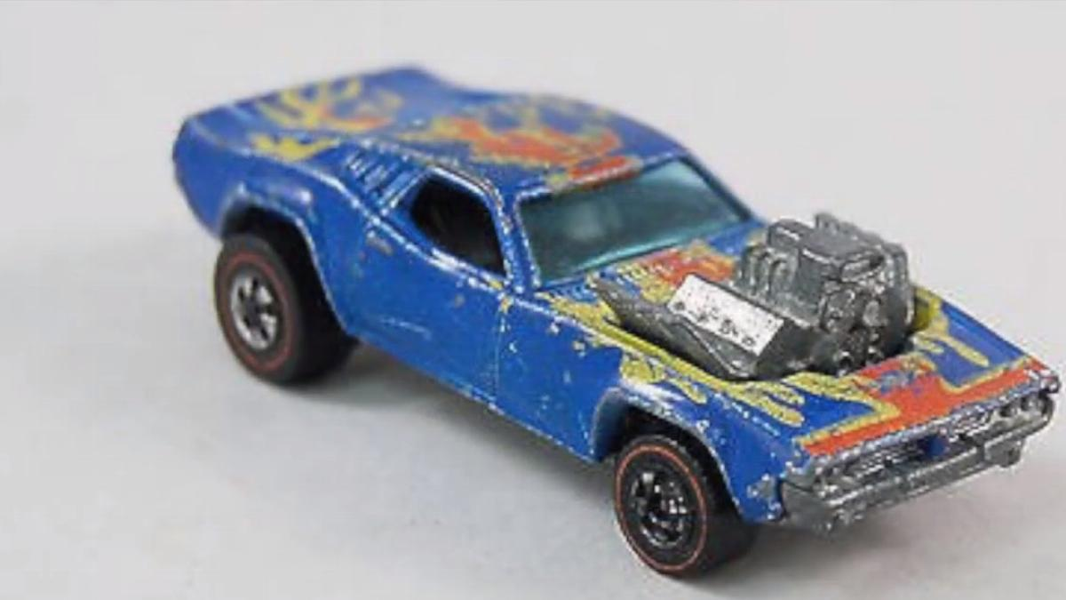 rare and valuable hot wheels blue rodger dodgers