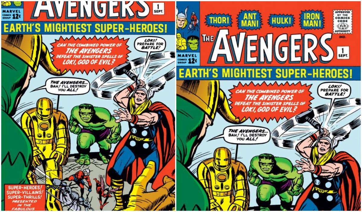 Thor hulk iron man