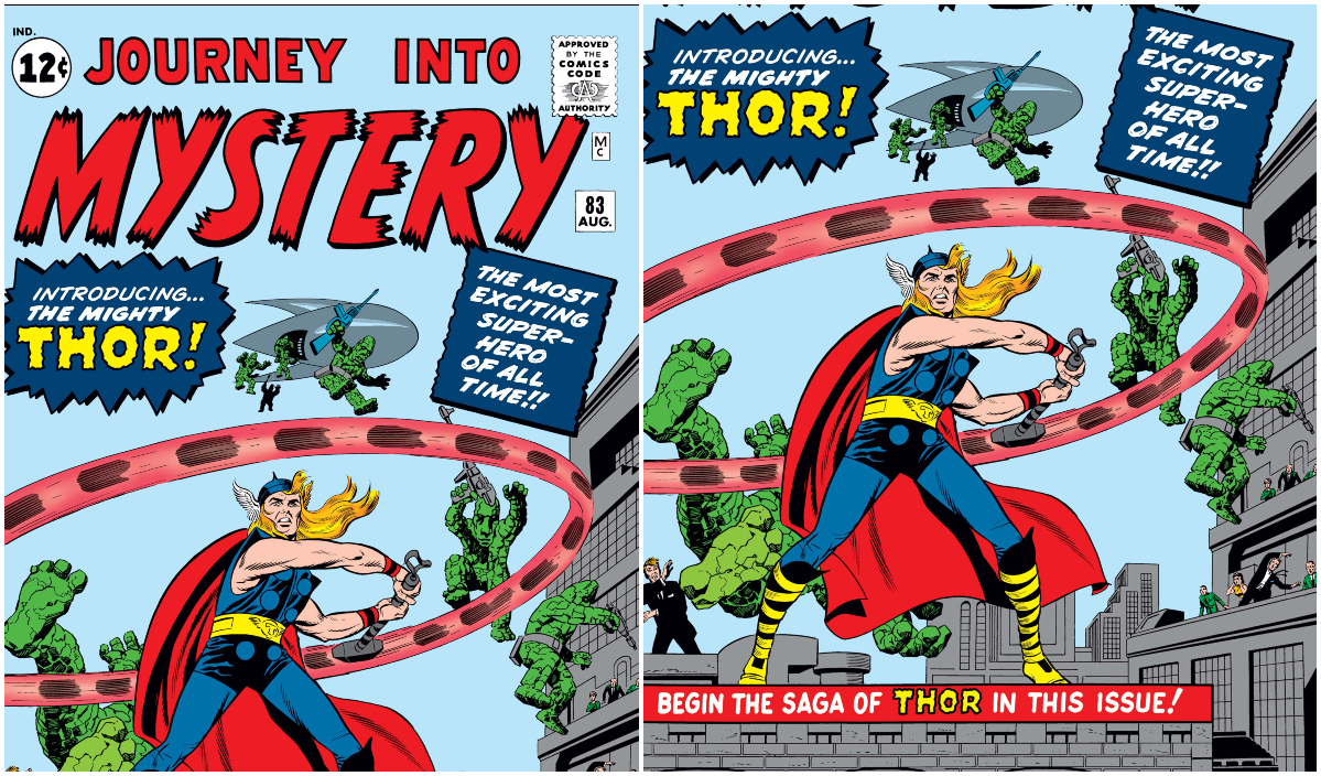 Journey into Mystery #83 Thor's Intro