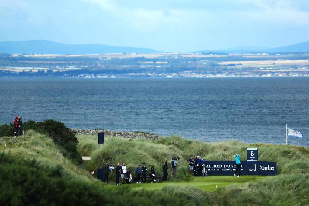 Day three of the Alfred Dunhill Links Championship at Kingsbarns Golf Links