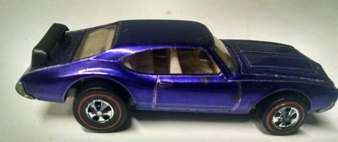 Purple olds 442 hot wheels high value