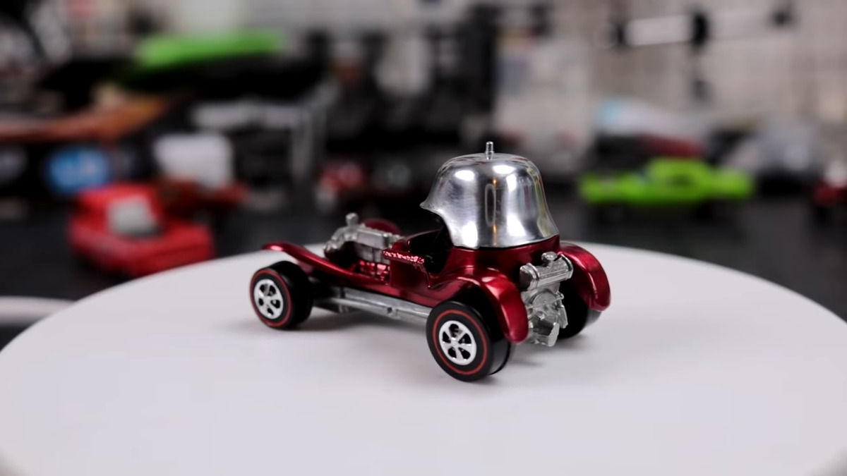 rare hot wheels red baron car