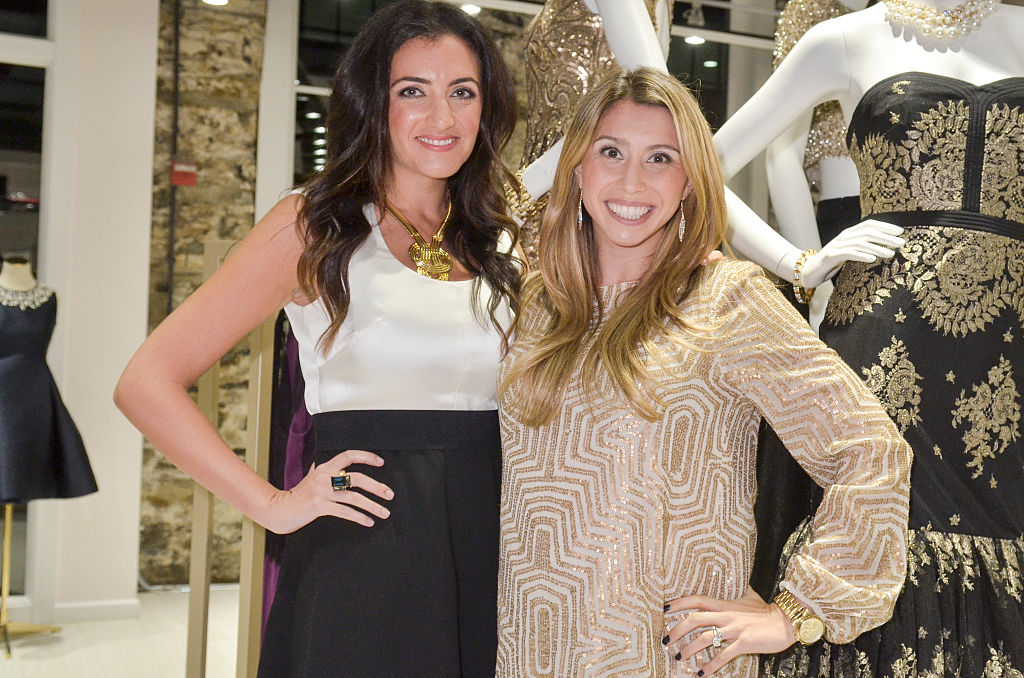 Jenn Hyman and Jenny Fleiss attend the Rent the Runway DC store Opening